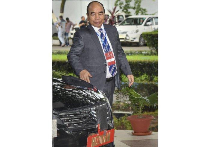 Mizoram Chief Minister Zoramthanga (PTI Photo)