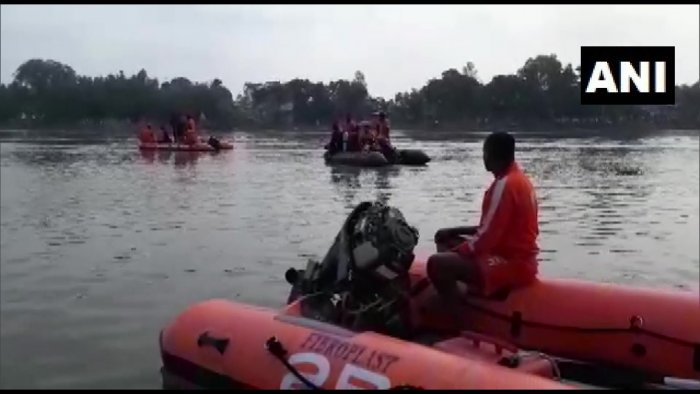 Four bodies had been fished out from the river bordering Katihar district in Bihar and Malda district in West Bengal since Thursday.Photo/ANI