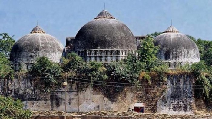 Babri Masjid before demolition (File Photo)