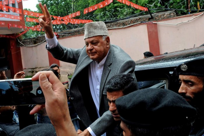 former Jammu and Kashmir chief minister Farooq Abdullah. (AFP File Photo)