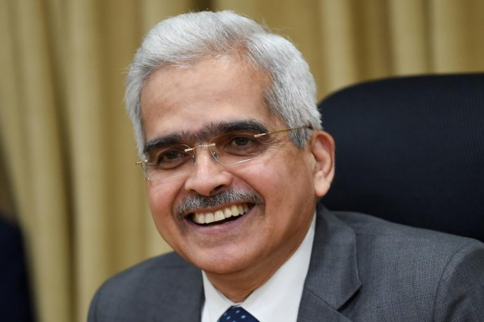Reserve Bank of India (RBI) governor Shaktikanta Das attends a press conference at the central bank's headquarters in Mumbai on October 4, 2019. AFP