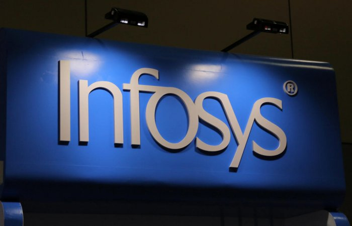 Infosys is one among the top 10 firms that saw a rise in itsmarketvaluation for the week ended Friday. Photo/Reuters
