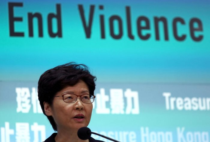 Thousands of protesters staged unsanctioned marches and flashmob protests at multiple locations on Saturday, a day after the city's leader Carrie Lam outlawed face coverings at protests, invoking colonial-era emergency powers not used for half a century. Photo/Reuters