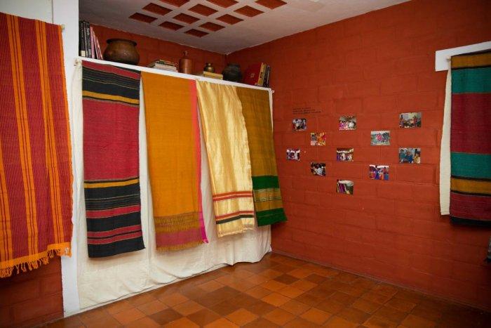 Sarees at Vimor Museum ofLiving Textiles