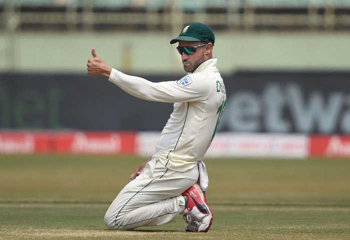 South African skipper Faf du Plessis (PTI Photo)