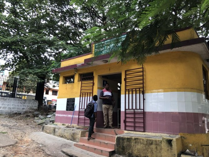 This Sulabh toilet complex in Domlur is only for men.