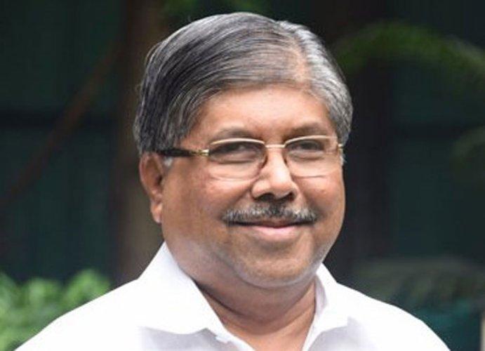 Maharashtra BJP chief Chandrakant Patil. (File Photo)