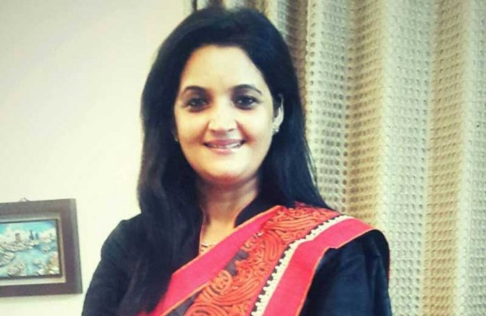 Former South Delhi mayor Sarita Choudhary