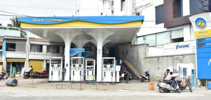 Bharat Petroleum bun in Bengaluru. (Photo by Janardhan B K)
