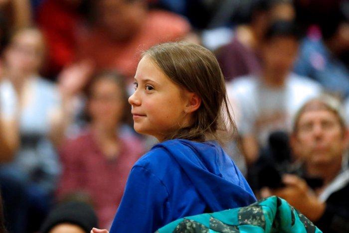 Greta Thunberg. (Reuters File Photo)