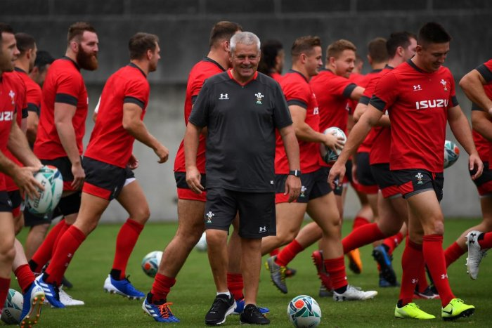 There are two World Cup fixtures on the island at that time -- a potentially critical Pool A Ireland-Samoa clash in Fukuoka on October 12 and Wales-Uruguay in Pool D in Kumamoto on October 13. AFP