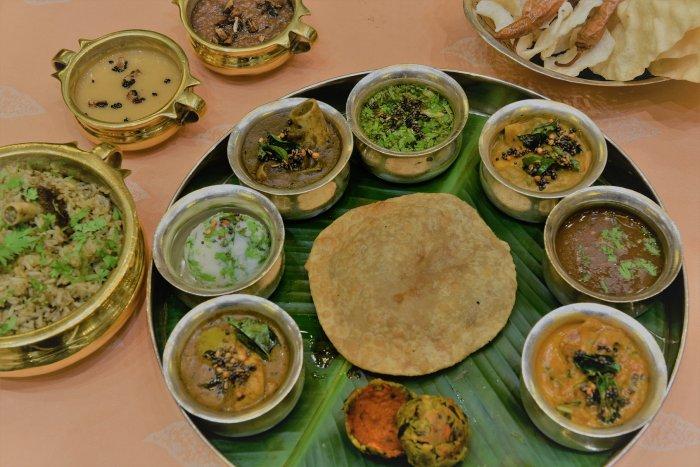 The dishes explored food from the Cholas, Vijayanagar, Sethupati and Kakatiya dynasties.