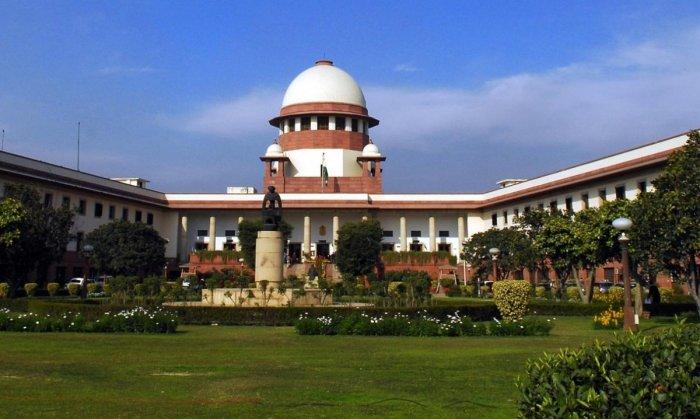 Supreme Court in New Delhi (DH File Photo)