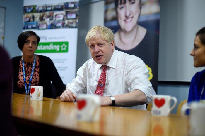 British Prime Minister Boris Johnson (Reuters Photo)