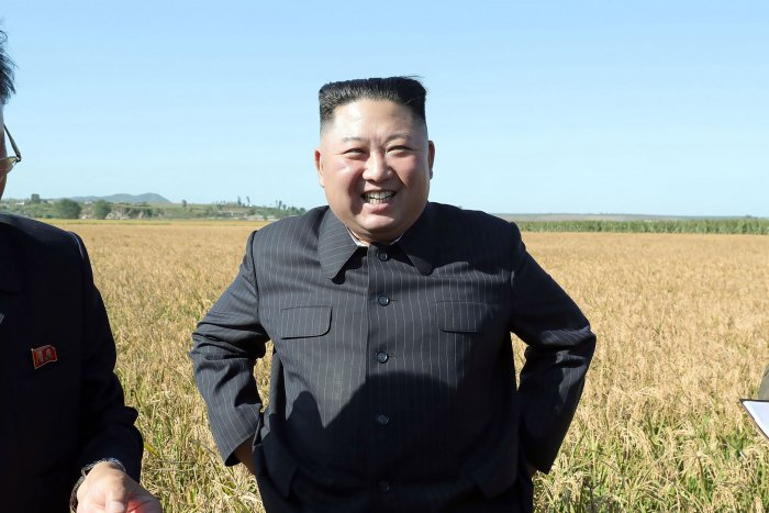 North Korean leader Kim Jong Un. (AFP Photo)