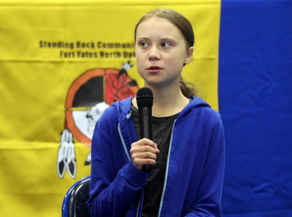 Swedish teen climate activist Greta Thunberg. (Reuters photo)