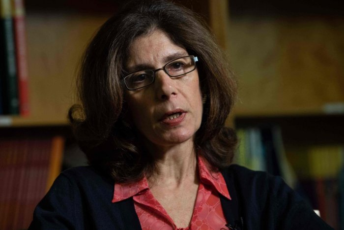 """Without growth """"inevitably, people will struggle,"""" the World Bank's Chief Economist Pinelopi Koujianou Goldberg said in an interview. Photo/AFP"""