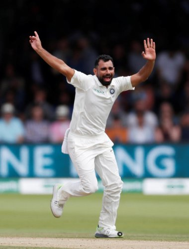 Mohammed Shami, along with Ishant Sharma, Umesh Yadav and Bhuvneshwar Kumar have made a big impact even on the slow Indian wickets. Reuters/ PTI/ AFP