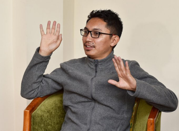 BJP MP from Ladakh Jamyang Tsering Namgyal. (PTI File Photo)