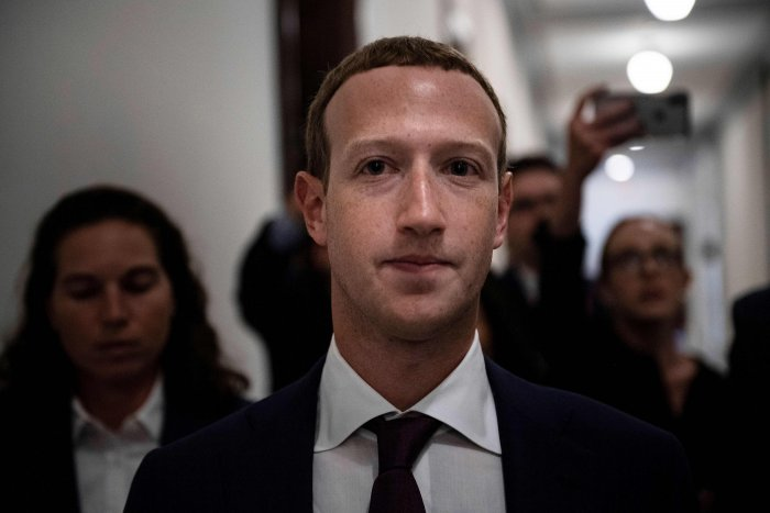 "Facebook Chief Executive Mark Zuckerberg enters the office of U.S. Senator Josh Hawley (R-MO) while meeting with lawmakers to discuss ""future internet regulation on Capitol Hill in Washington, U.S. (Reuters Photo)"