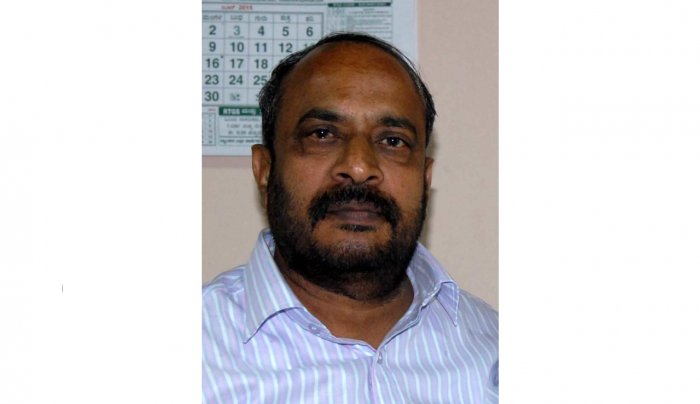 Deputy Speaker of Legislative Council S L Dharme Gowda (DH File Photo)