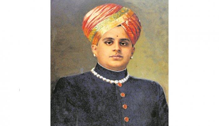 Maharaja Jayachamarajendra Wadiyar (DH Photo)