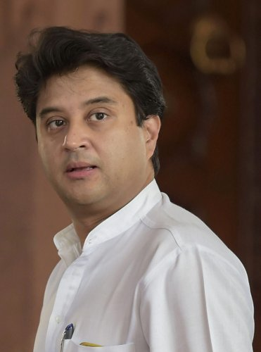 Congress general secretary Jyotiraditya Scindia. (PTI Photo)