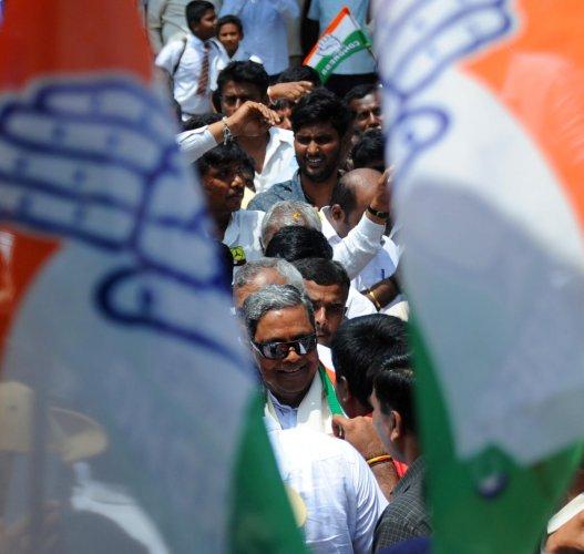 Former Chief Minister and senior Congress Leader Siddaramaiah. Credit: DH Photo/Pushkar V