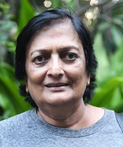 Former India captain Shantha Rangaswamy