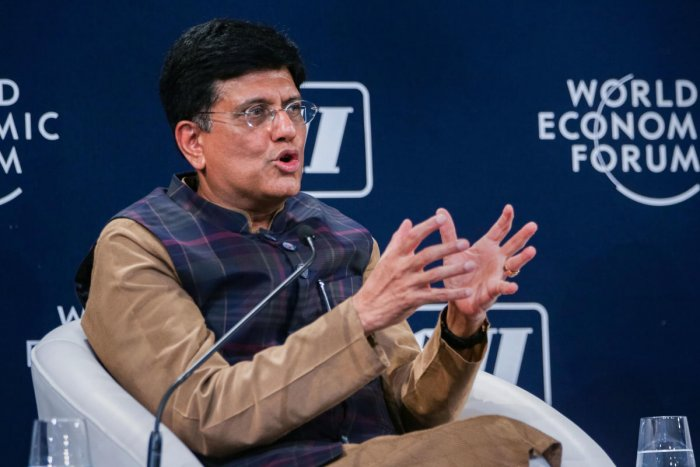 Union Minister Piyush Goyal to join talks on free trade. (PTI Photo)