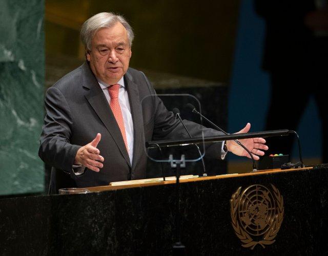 UN Secretary General António Guterres. (AFP Photo)