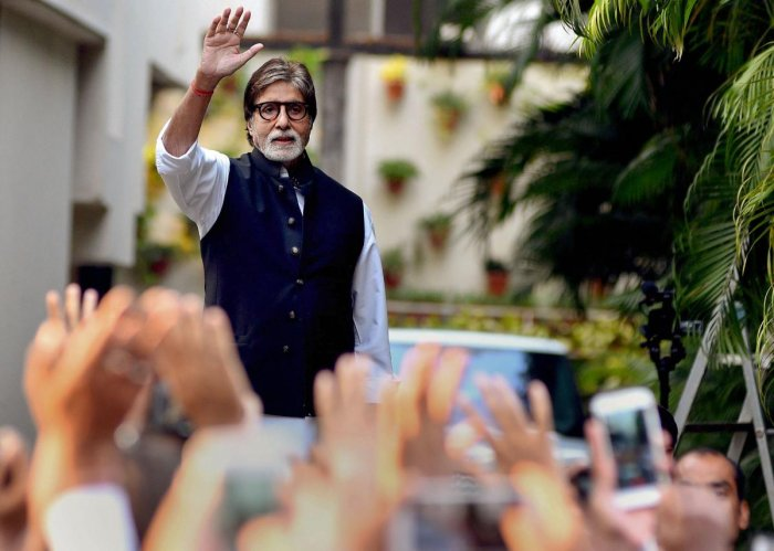 Amitabh Bachchan. PTI Photo