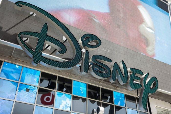 Walt Disney logo. (Getty images)