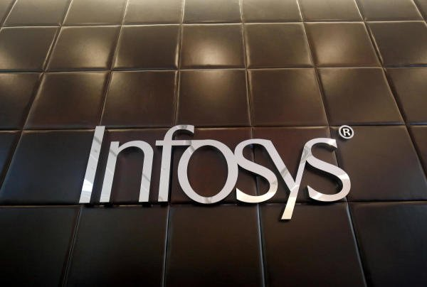 Infosys logo. (Reuters photo)