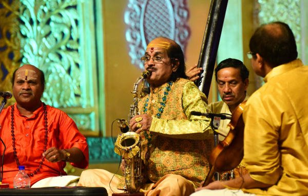 Saxophone wizard Kadri Gopalnath. (DH photo)