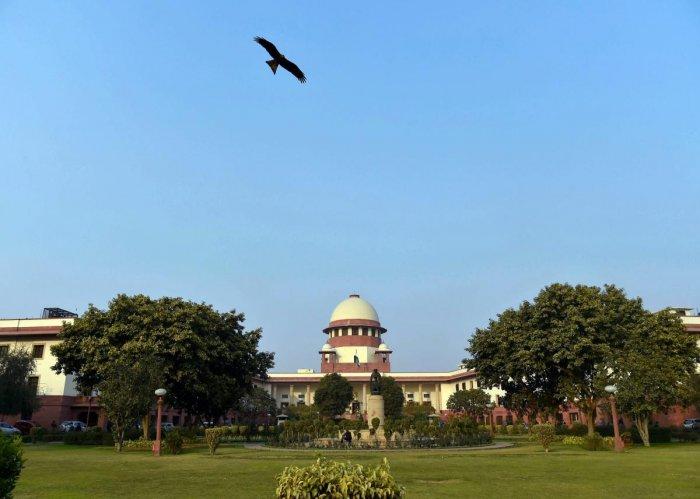 Supreme Court in New Delhi (PTI Photo)