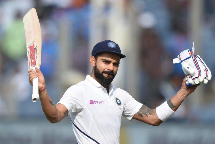 Indian captain Virat Kohli (Photo by AFP)
