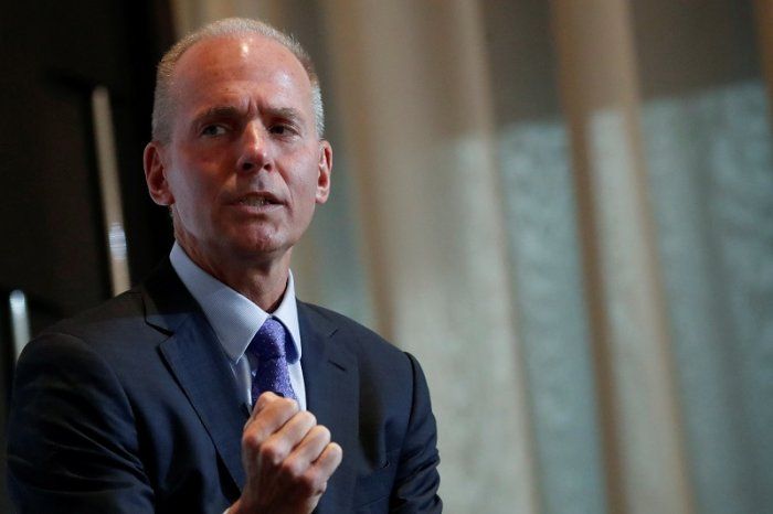 Boeing President and CEO Dennis Muilenburg. (Reuters Photo)