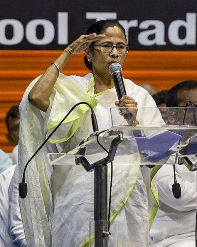 West Bengal Chief Minister Mamata Banerjee. (PTI photo)