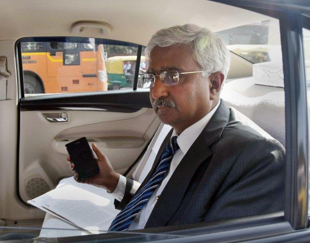 DoT Secretary Anshu Prakash. (PTI Photo)