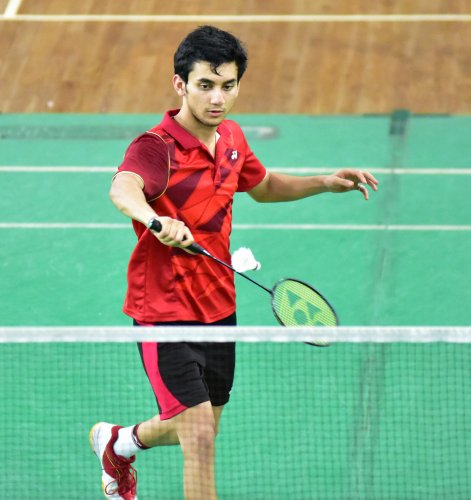 Rising Indian shuttler Lakshya Sen sailed into the men's singles semifinals in Dutch Open. (DH Photo)