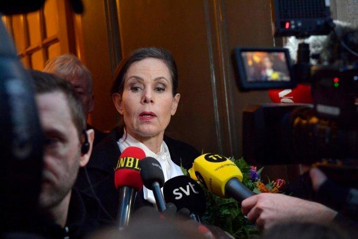 File picture of Sara Danius. AFP Photo