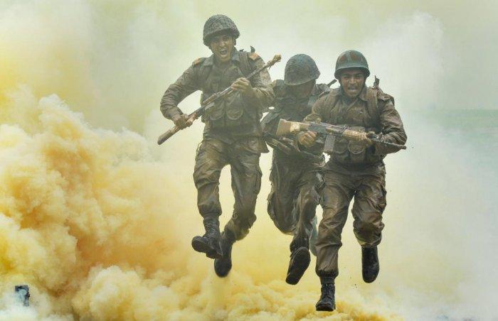 War drill by Indian Soldiers (PTI Image for Representation)