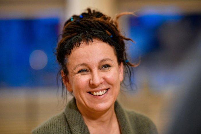 Polish author Olga Tokarczuk (AFP Photo)