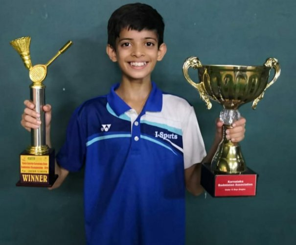 Avi Basak has been sweeping titles in his category in the last few months.