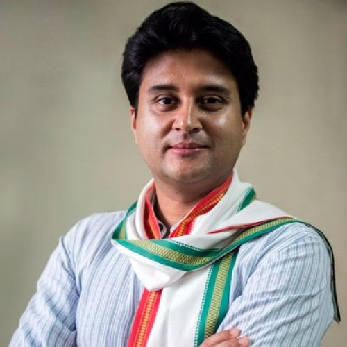 Congress general secretary Jyotiraditya Scindia. DH photo