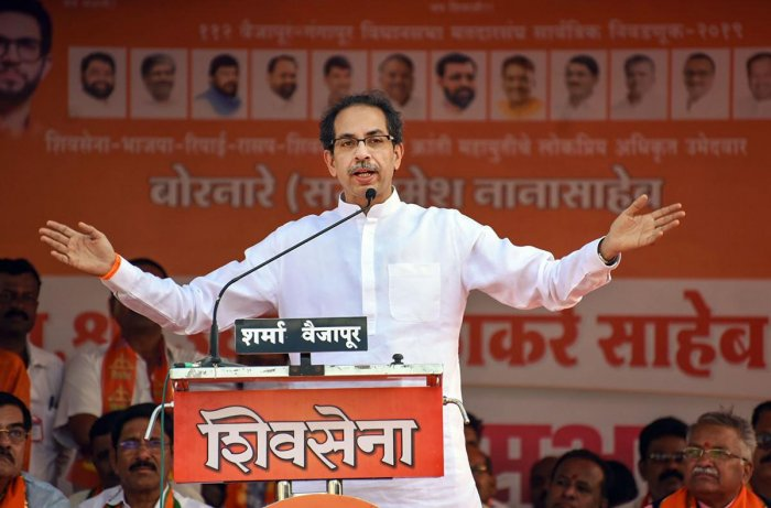 """Thackeray also slammed the NCP for """"making drama out of the ED (Enforcement Directorate) enquiry"""". Photo/PTI"""