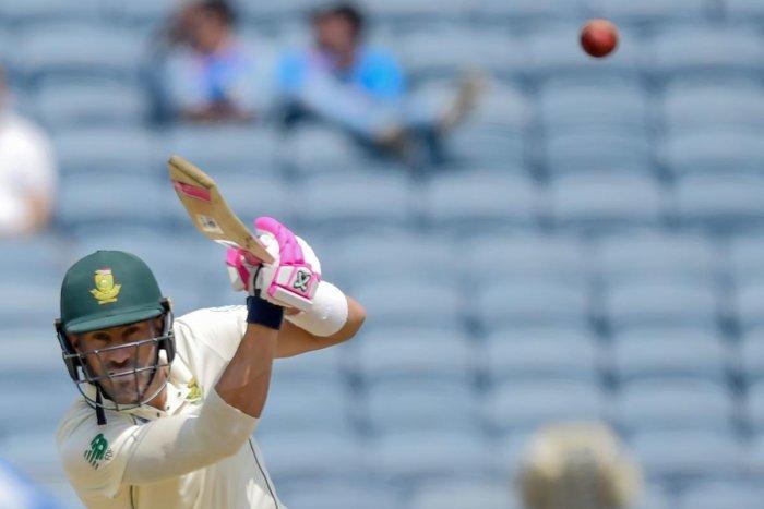 South Africa skipper Faf du Plessis. AFP