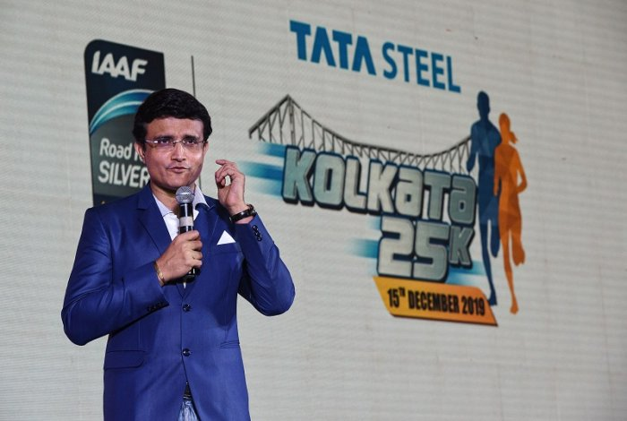Former cricketer and 'My 11 Circle' brand ambassador Sourav Ganguly. (PTI Photo)