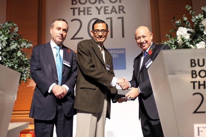 Nobel laureate Abhijit Banerjee (C). Photo credit: Wikimedia Commons